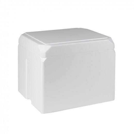 STYROFOAM BOX (x6) 12,5 LITERS