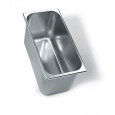 STAINLESS STEEL CONTAINER 360X165MM